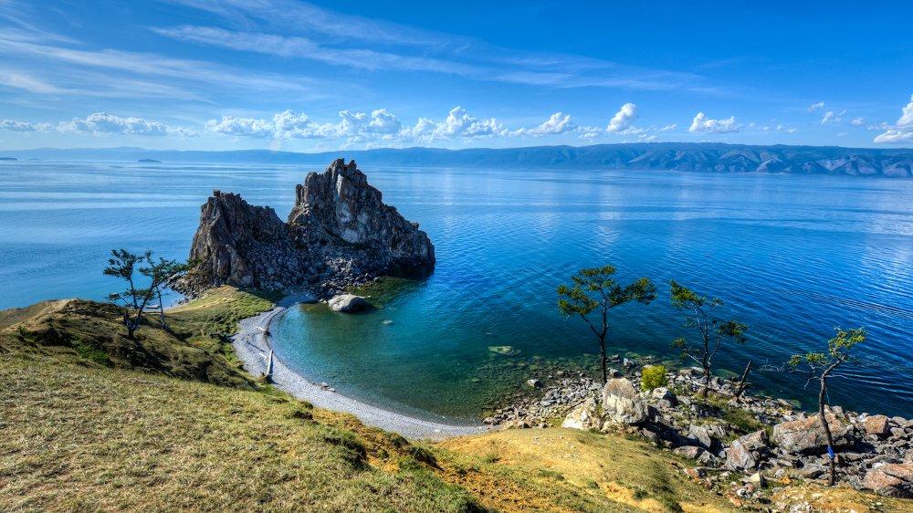 Fresh water Lake Baikal